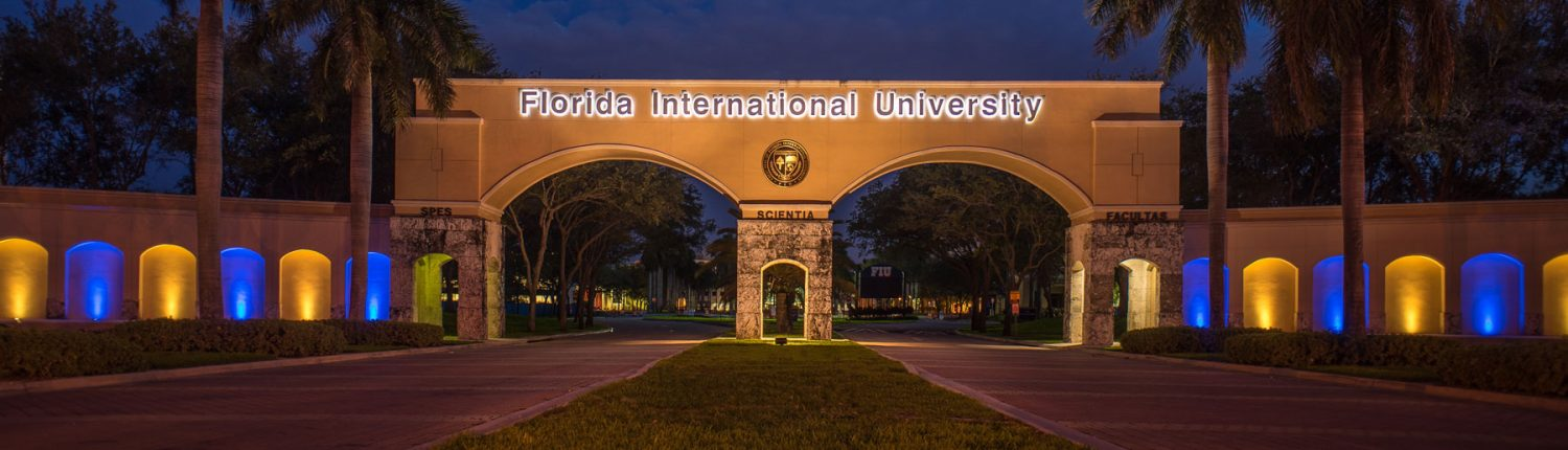 FIU Front Entrance