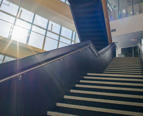 Stairs inside SASC